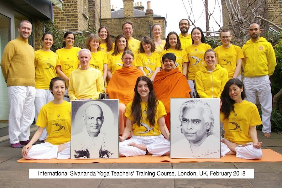 "<div style=""font-family: catamaran; color:#3c2c1e"">Sivananda Yoga Vedanta Centre</br><span style=""font-size: .8em"">London 